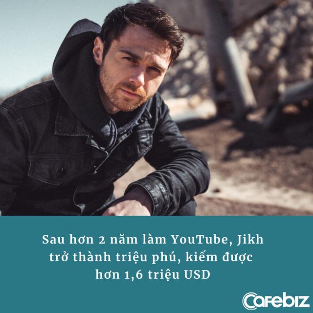Thành triệu phú nhờ làm video YouTube về tiền số và tài chính cá nhân, hiện có 1,7 triệu người đăng ký - Ảnh 1.