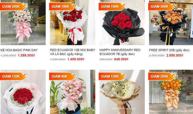 Hàng loạt shop hoa cao cấp sale mạnh đón 20/10, nhiều bó giảm tới 2 triệu đồng - Ảnh 7.