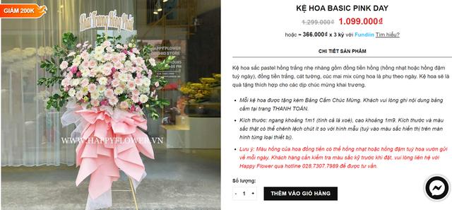 Hàng loạt shop hoa cao cấp sale mạnh đón 20/10, nhiều bó giảm tới 2 triệu đồng - Ảnh 10.