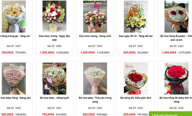 Hàng loạt shop hoa cao cấp sale mạnh đón 20/10, nhiều bó giảm tới 2 triệu đồng - Ảnh 18.