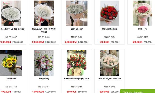 Hàng loạt shop hoa cao cấp sale mạnh đón 20/10, nhiều bó giảm tới 2 triệu đồng - Ảnh 19.