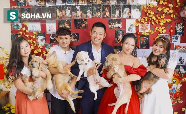 Cặp vợ chồng cưu mang 100 con chó, mèo bị chủ F0 bỏ rơi mùa dịch: 'Chúng tôi không sinh con để chu toàn cho tụi nhỏ' - Ảnh 15.