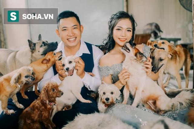 Cặp vợ chồng cưu mang 100 con chó, mèo bị chủ F0 bỏ rơi mùa dịch: 'Chúng tôi không sinh con để chu toàn cho tụi nhỏ' - Ảnh 5.
