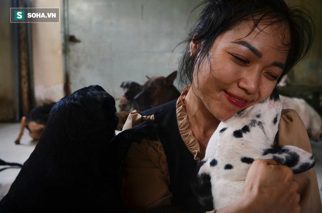 Cặp vợ chồng cưu mang 100 con chó, mèo bị chủ F0 bỏ rơi mùa dịch: 'Chúng tôi không sinh con để chu toàn cho tụi nhỏ' - Ảnh 11.