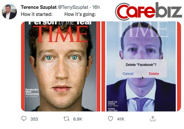 Bìa tạp chí gây sốc của TIME: Hình Mark Zuckerberg đi kèm với câu hỏi Bạn có muốn xoá Facebook không? - Ảnh 2.