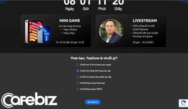 Thế Giới Di Động ra mắt chuỗi mới tên Topzone: Sẽ chuyên về bán lẻ thời trang cao cấp? - Ảnh 1.