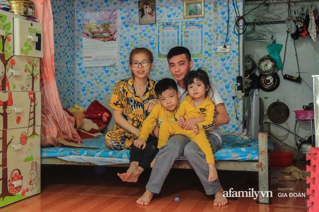 Tết xa quê của những công nhân ngoại tỉnh ở Hà Nội: Con tôi nhớ ông bà lắm, nhưng chỉ khi nào hết dịch, khi đó mới là Tết - Ảnh 4.