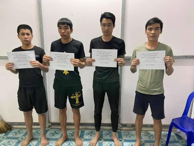 Bơi qua biên giới để về quê ăn Tết, 4 đối tượng bị bắt giữ - Ảnh 1.
