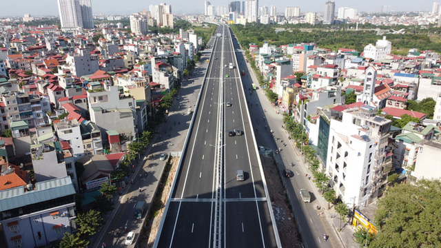 Toàn cảnh những công trình gỡ ùn tắc giao thông cho Hà Nội thời gian qua  - Ảnh 14.