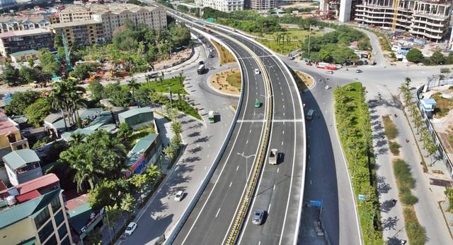 Toàn cảnh những công trình gỡ ùn tắc giao thông cho Hà Nội thời gian qua  - Ảnh 17.