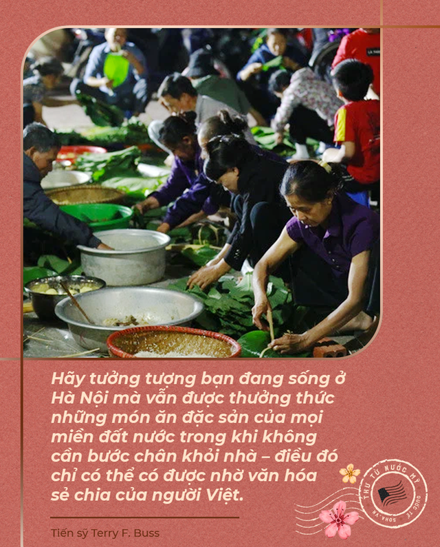 Thư từ nước Mỹ: Ánh mắt con gà luộc và nỗi nhớ những ngày tuyệt vời nhất trong năm ở Việt Nam - Ảnh 3.