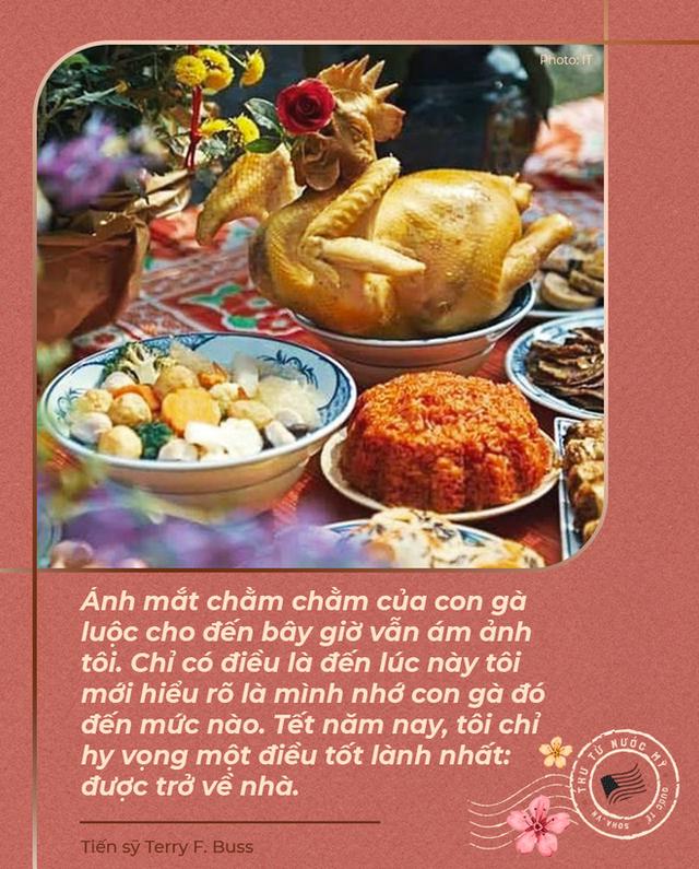 Thư từ nước Mỹ: Ánh mắt con gà luộc và nỗi nhớ những ngày tuyệt vời nhất trong năm ở Việt Nam - Ảnh 10.