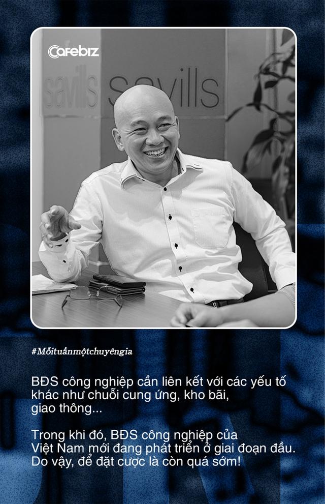 Tiến sĩ Sử Ngọc Khương: Còn quá sớm để nhà đầu tư Việt đặt cược vào bất động sản công nghiệp - Ảnh 2.