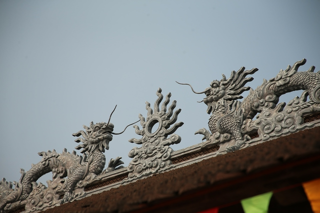 Vẻ đẹp trầm mặc và nên thơ của chùa Tam Chúc - Ảnh 10.