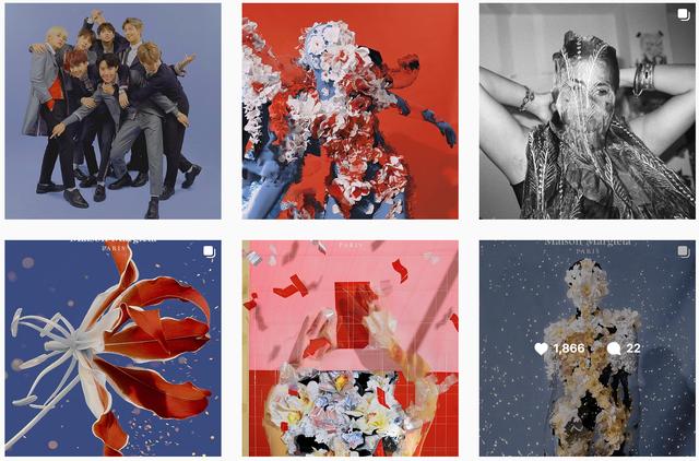 Gucci bị nghệ sĩ gốc Việt tố ăn cắp ý tưởng: Đạo nhái hình gốc từ năm 2016, giống từ cách chụp cận mặt người mẫu qua chiếc gương tay, đến bố cục, phông nền - Ảnh 7.
