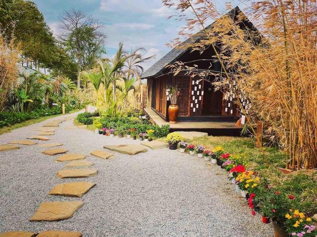 Vườn Zen gần 1ha trong tổ hợp BĐS của ông Đặng Lê Nguyên Vũ vừa khai trương: Xây theo kiến trúc chữa lành Thân – Tâm – Trí, thu vé vào cổng bằng… cây - Ảnh 6.