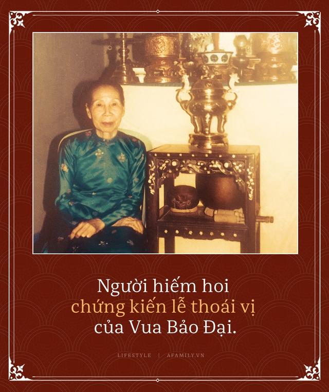 Những điều thâm cung bí sử chốn hậu cung triều Nguyễn qua lời kể của vị cung nữ cuối cùng còn sống trước khi bà vừa qua đời - Ảnh 9.
