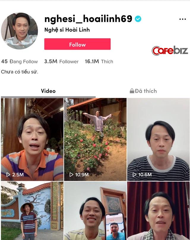 Tự nhận mù công nghệ, chậm chạp, Hoài Linh đạt nửa triệu súp sau 2 tuần chơi YouTube, thu về toàn clip triệu view trên Tiktok sau 1 tuần  - Ảnh 2.
