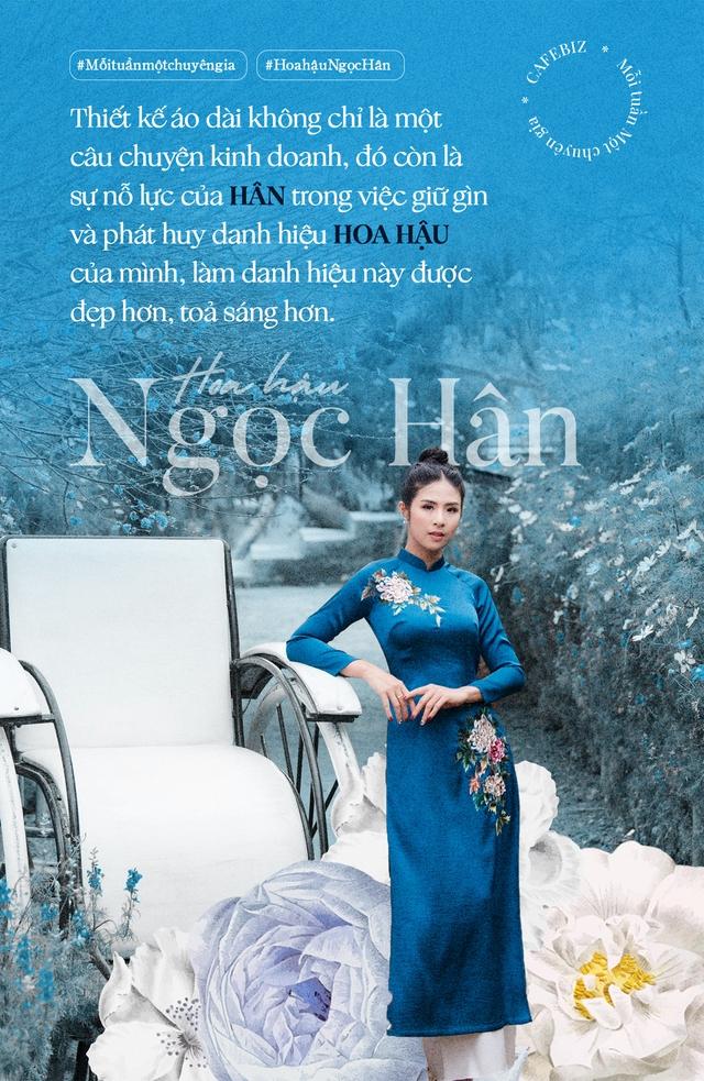 Hoa hậu Ngọc Hân: Cặm cụi bán áo dài cả ngày kiếm vài trăm tới vài triệu, rất nhỏ so với cát-xê hàng ngàn đô một giờ đi sự kiện… - Ảnh 4.