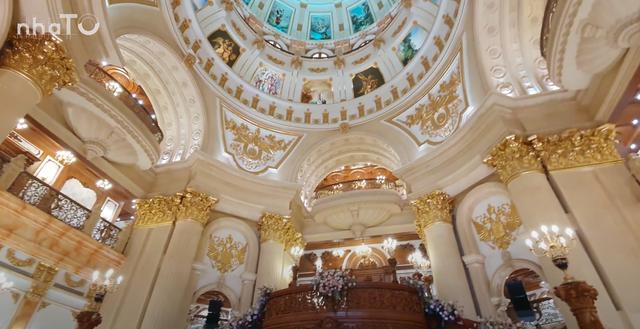 Lạc lối trong cung điện lớn nhất ĐNA của đại gia Thành Thắng Group: Cao bằng toà nhà 18 tầng, 20 phòng ngủ, dát vàng khắp nơi  - Ảnh 4.