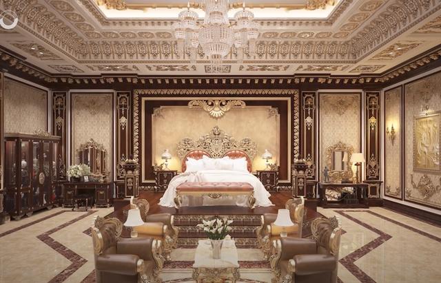 Lạc lối trong cung điện lớn nhất ĐNA của đại gia Thành Thắng Group: Cao bằng toà nhà 18 tầng, 20 phòng ngủ, dát vàng khắp nơi  - Ảnh 16.