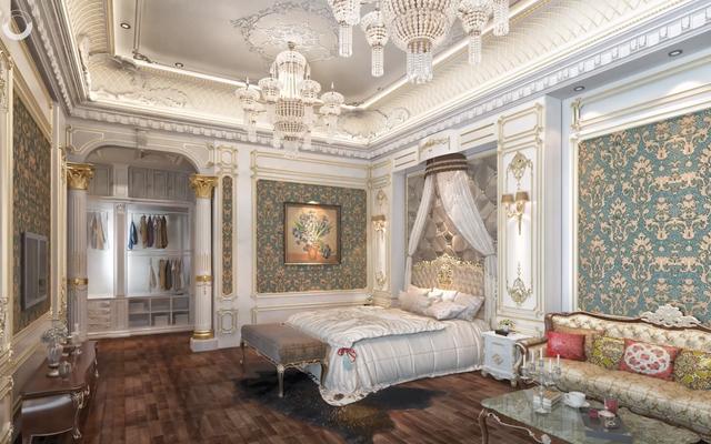 Lạc lối trong cung điện lớn nhất ĐNA của đại gia Thành Thắng Group: Cao bằng toà nhà 18 tầng, 20 phòng ngủ, dát vàng khắp nơi  - Ảnh 13.