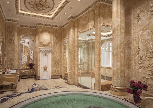 Lạc lối trong cung điện lớn nhất ĐNA của đại gia Thành Thắng Group: Cao bằng toà nhà 18 tầng, 20 phòng ngủ, dát vàng khắp nơi  - Ảnh 12.