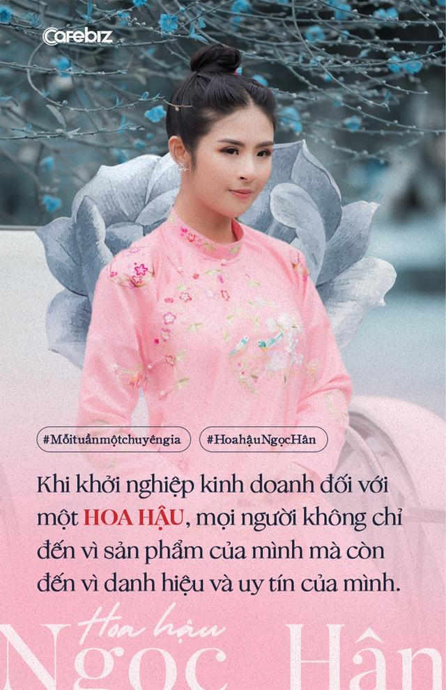Hoa hậu Ngọc Hân: Cặm cụi bán áo dài cả ngày kiếm vài trăm tới vài triệu, rất nhỏ so với cát-xê hàng ngàn đô một giờ đi sự kiện… - Ảnh 2.