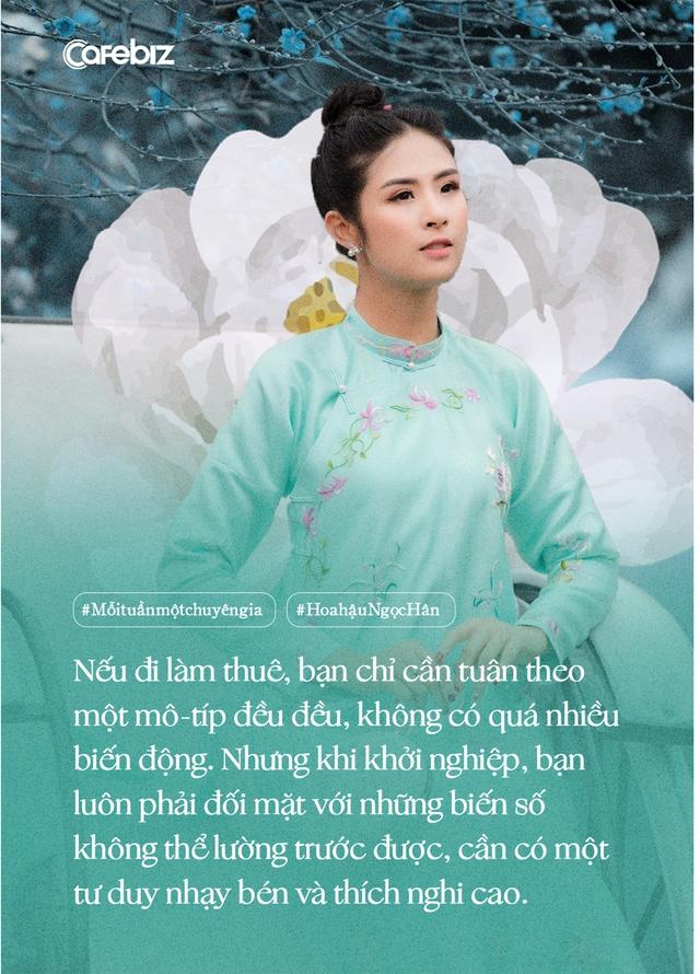 Hoa hậu Ngọc Hân: Cặm cụi bán áo dài cả ngày kiếm vài trăm tới vài triệu, rất nhỏ so với cát-xê hàng ngàn đô một giờ đi sự kiện… - Ảnh 7.