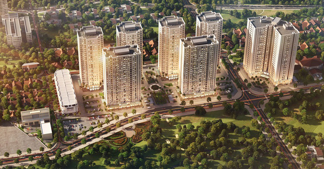 4 chung cư ở Hà Nội đang có giá bán dưới 1 tỷ đồng cho người độc thân và các gia đình trẻ có mức thu nhập trung bình - Ảnh 4.