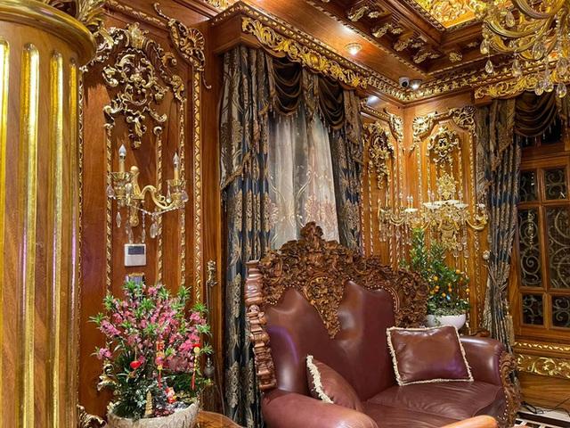 Biệt thự 7 tầng của đại gia ngành sắt Việt giàu lên từ thu mua sắt vụn: Độ hoành tráng sánh ngang lâu đài, tổng giá trị cỡ 300 tỷ - Ảnh 4.