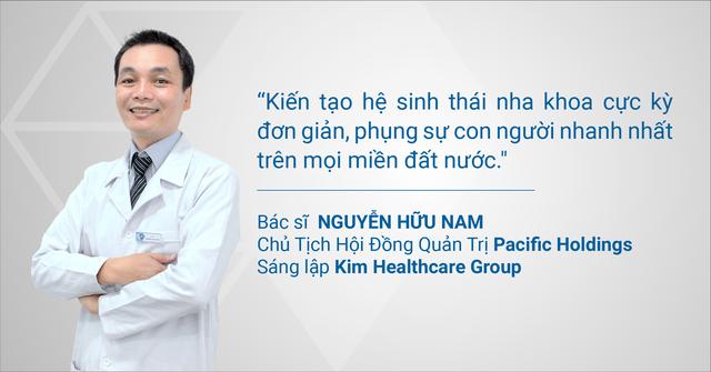 Ông Nguyễn Hữu Nam – Chủ tịch của Nha khoa Kim