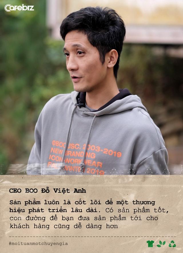 CEO BOO Đỗ Việt Anh: Thời trang xanh sẽ trở thành xu hướng rất lớn trong tương lai gần - Ảnh 3.