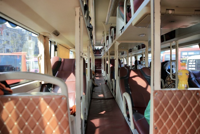 Bến xe khách vắng hoe trong những ngày cao điểm Tết Nguyên đán Tân Sửu 2021  - Ảnh 12.