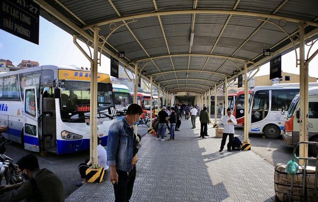 Bến xe khách vắng hoe trong những ngày cao điểm Tết Nguyên đán Tân Sửu 2021  - Ảnh 8.