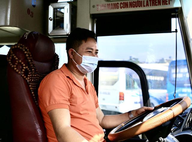 Bến xe khách vắng hoe trong những ngày cao điểm Tết Nguyên đán Tân Sửu 2021  - Ảnh 10.