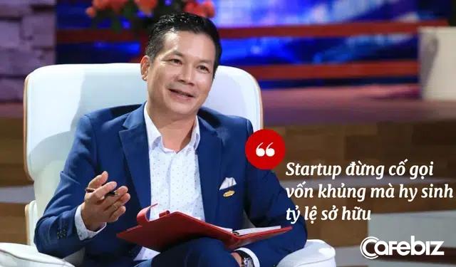 Từng chê Món Huế sập bởi NĐT tham lam thích chi phối, nhưng nay Shark Hưng quả quyết: 'Startup trên Shark Tank tôi thâu tóm hoặc chi phối thì khả năng thành công cao hơn!' - Ảnh 1.