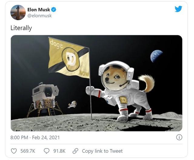 Elon Musk phản ứng với lời đồn đang bị SEC điều tra vì thổi giá Dogecoin: Tuyệt quá - Ảnh 1.