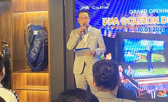 Golfer nổi tiếng giới doanh nhân Đặng Hồng Anh bắt tay đại gia Hàn Quốc Golfzon tham vọng khuynh đảo ngành golf giả lập Việt Nam - Ảnh 4.