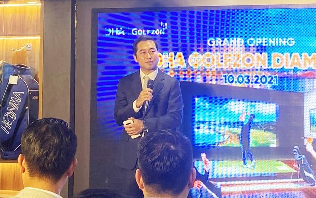 Golfer nổi tiếng giới doanh nhân Đặng Hồng Anh bắt tay đại gia Hàn Quốc Golfzon tham vọng khuynh đảo ngành golf giả lập Việt Nam - Ảnh 3.