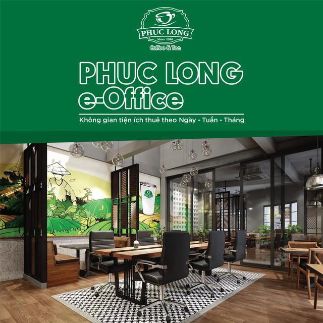 Phúc Long lấn sân mảng co-working space, ra mắt mô hình vừa bán cà phê vừa làm việc chung - Ảnh 1.