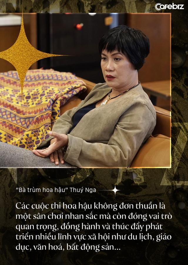 Bà trùm hoa hậu Thuý Nga – TGĐ Elite Việt Nam: Các cô gái Việt dễ nhìn hơn các nước láng giềng, nhưng hiếm thấy nhan sắc nổi bật vì các em đang tự triệt tiêu cá tính của mình - Ảnh 10.