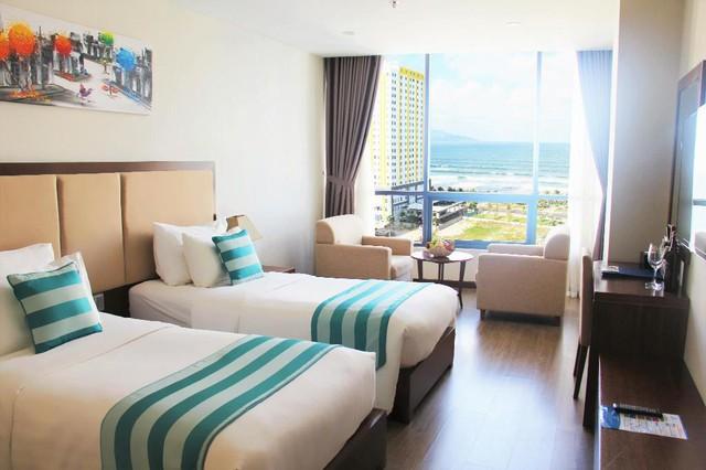 """Loạt khách sạn 4 sao Đà Nẵng giá rẻ """"giật mình"""": Chưa tới 500k/đêm, vị trí ngay trung tâm, có cả hồ bơi, ăn sáng miễn phí - Ảnh 10."""