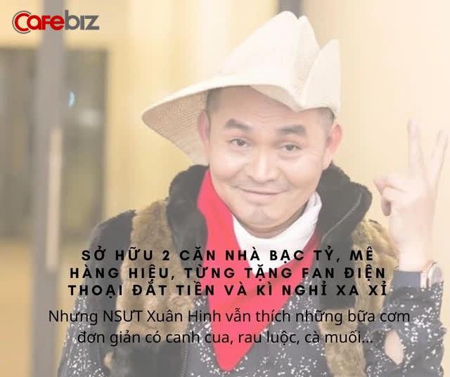 NSƯT Xuân Hinh có 2 căn nhà bạc tỷ, mê đồ hiệu, từng tặng fan điện thoại đắt tiền và kì nghỉ xa xỉ - Ảnh 5.