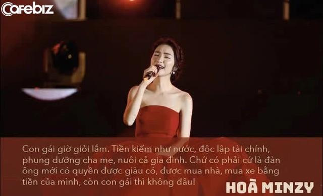 Hoà Minzy giàu có ở tuổi 26: Đại gia BĐS ngầm, tặng bố mẹ biệt thự 5 tầng, hạnh phúc bên chồng đại gia, khẳng định kiếm tiền như nước, độc lập tài chính... - Ảnh 1.