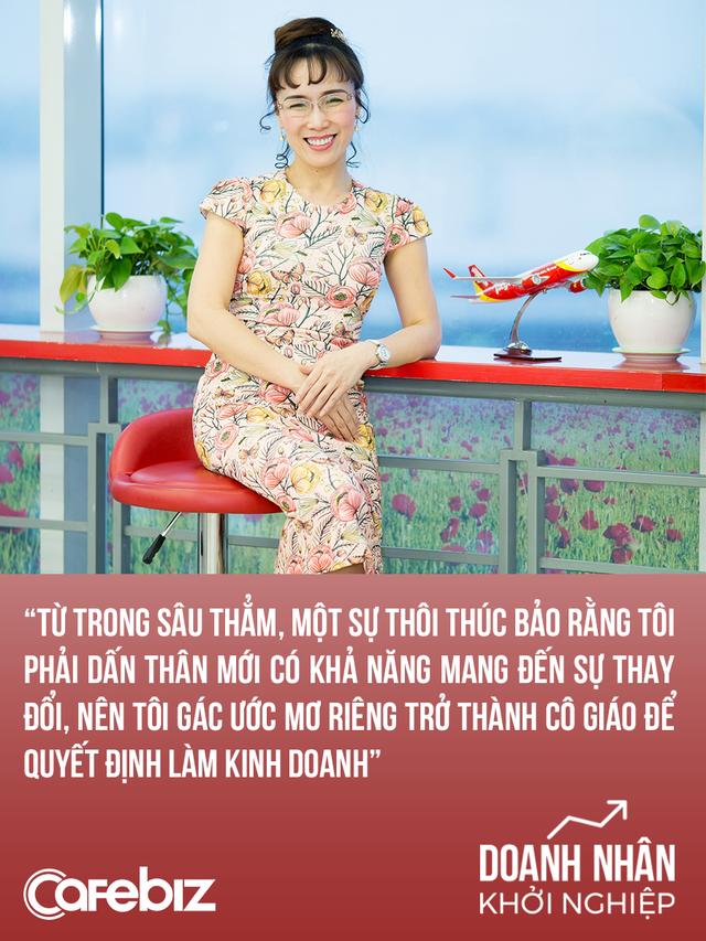 Chuyện khởi nghiệp của nữ tướng Vietjet: Gác lại giấc mơ làm cô giáo, kiếm 1 triệu USD ở tuổi 21, trở thành nữ tỷ phú đầu tiên của Việt Nam - Ảnh 1.