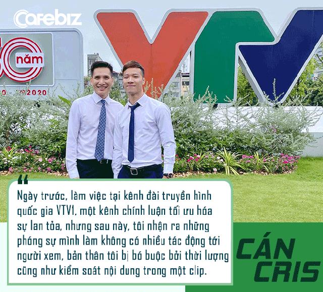 Hai lần thay đổi công việc trong 1 năm, chia tay VTV, YouTuber bóng đá phủi Cán Cris: Tôi âm tiền vì đầu tư nhiều vào YouTube nhưng cuộc sống hiện nay rất thú vị! - Ảnh 6.