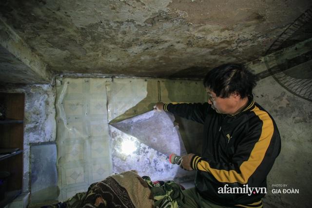 Người đàn ông sống trong hộp diêm giữa phố cổ Hà Nội và ước mơ một ngày được đứng vươn vai trong chính ngôi nhà của mình - Ảnh 8.