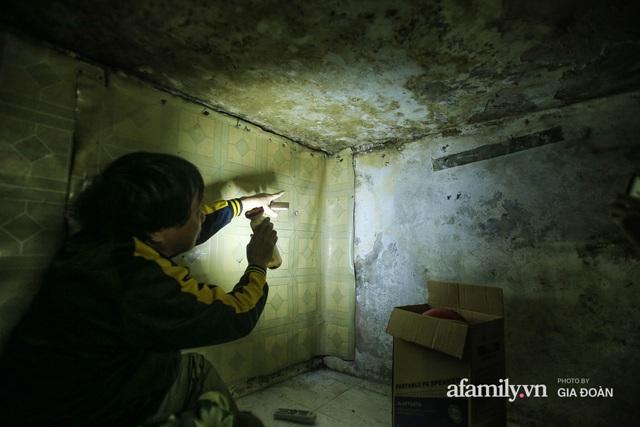 Người đàn ông sống trong hộp diêm giữa phố cổ Hà Nội và ước mơ một ngày được đứng vươn vai trong chính ngôi nhà của mình - Ảnh 10.