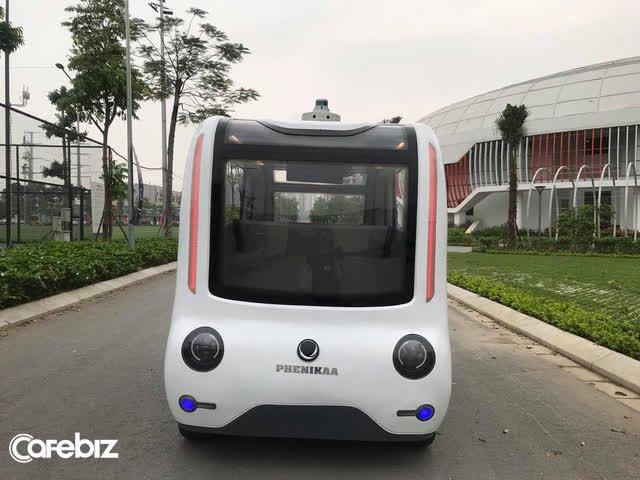 Cận cảnh xe tự hành Made in Vietnam đầu tiên đạt cấp độ 4: Tốc độ tối đa 40km/h, làm chủ công nghệ lõi, đã sẵn sàng nhận đơn đặt hàng - Ảnh 4.
